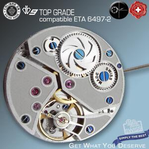MOVEMENT CALIBRE  db9 SB - compatible ETA 6497-2, TOP GRADE HAND WIND SWISS MADE