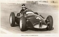 1956 BRM Mike Hawthorn Motor Racing Goodwood unused RP pc Valentines