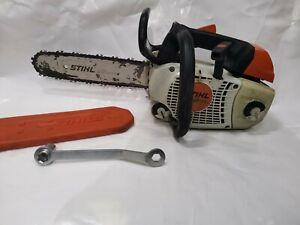 "Stihl MS201TC Top Handle Chainsaw 12"""