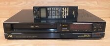 Genuine JVC (HR-D700U) VCR / VHS Recorder With Remote & Power Cord **READ**