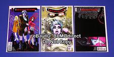 1 2010 I Zombie 3 4 5 Cw Tv Show Mike Allred First Prints iZombie