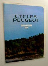 Ancien dépliant Peugeot vélo course 1976 - Bernard Thevenet