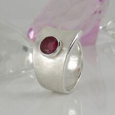 Markenlose Echte Edelstein-Ringe mit Rubin für Damen