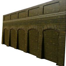 Card Kit - 00 scale retaining wall.