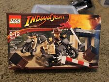 "SEALED NEW Lego Indiana Jones And The Last Crusade ""MOTORCYCLE CHASE"" Set #7620"