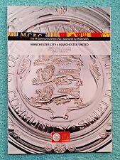 2011 - COMMUNITY SHIELD PROGRAMME - MANCHESTER CITY v MANCHESTER UTD