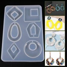 Silicone Earring Necklace Pendant Mold Resin Casting Mold Jewelry Making Acrylic
