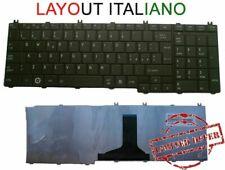 🇮🇹TASTIERA per Toshiba Satellite C650 C655 C655D L650 L655 L670 L675 C660 ita