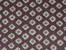 """WAVERLY ROSEMARY YOUNG AT HEART COLLECTION FABRIC 48X58"""" BROWN COTTON SCOTCHGARD"""