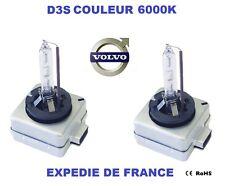 2 AMPOULES XENON D3S VOLVO S60 II 35W 6000K NEUF