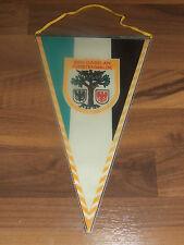 Wimpel DDR 30 cm BSG Gaselan Fürstenwalde mit Wappen Wimpel in Folie Selten