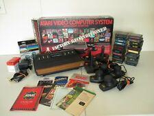 ORIGINAL ATARI 2600 Bundle With Box And Games!