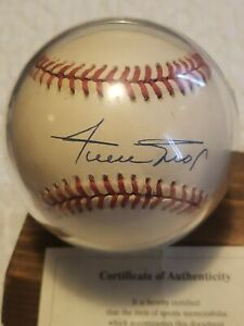 AUTHENTIC WILLIE MAYS SIGHNED BASEBALL AUTO WITH COA NOT JSA
