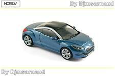 Peugeot RCZ de 2013 Tuanake Blue NOREV - NO 473877 - Echelle 1/43