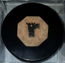 QUEBEC REMPARTS Vintage Converse GAME PUCK Hockey NHL OLD CCM ART ROSS CCM RARE