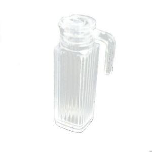 Dollhouse Resin Transparent Water Jug Kettle 1:12 Miniature Accessories