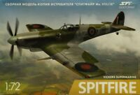 Poly ART 1:72 Vickers Supermarine Spitfire British WWII Plastic Kit #P05U