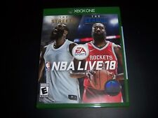 Replacement Case (NO  GAME) NBA Live 18 2018 XBOX ONE 1 XB1 100% Original Box