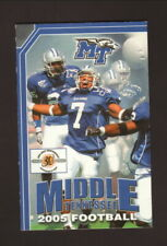 Middle Tennessee State Blue Raiders--2005 Football Schedule--First Tennessee