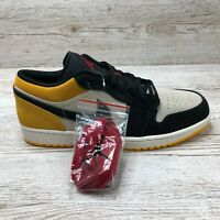 NIKE AIR JORDAN 1 LOW UNIVERSITY GOLD size UK 12 EUR 47.5 US 13 553558 127 1