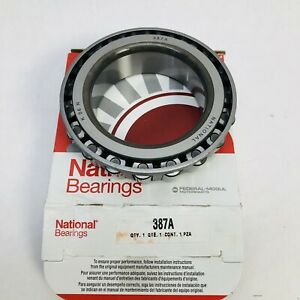 NATIONAL BEARING 387A AXLE DIFFERENTIAL BEARING