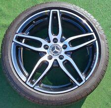 Set Black 2019 Genuine OEM AMG Factory Mercedes-Benz CLA250 18 inch Wheels Tires