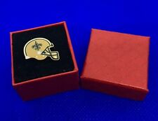 New Orleans Saints Lapel Pin NO Saints Football Fan Hat Pin Back Gift NEW