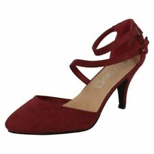 37 Scarpe da donna cinturini, cinturini alla caviglia rossi