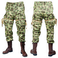 WW2 US ARMY M42 PACIFIC CAMOUFLAGE Duck Hunter Camouflage PANTS TROUSERS 32R