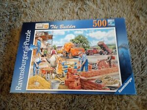 Ravensburger The Builder 500 Piece Jigsaw Puzzle