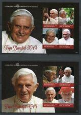 Stati Federati di Micronesia Micronesia 2012 Papa Benedetto XVI Pope Benedict 85. COMPLEANNO MNH