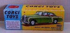 Corgi Bentley Vintage Diecast Cars & Vans