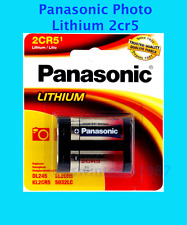 US Seller new Panasonic 2CR5 Lithium Photo Battery, DL45, KL2CR5, 5032LC retail