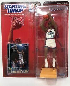 1998 KENNER STARTING LINEUP NBA GRANT HILL DETROIT PISTONS MOC