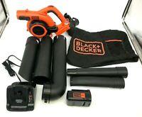 Black and Decker LSWV36 Lithium Sweeper Vacuum KIT 36V, VG