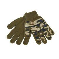 Kids Camo Magic Grip Gripper Warm Thermal Stretch Magic Gloves Childrens Army