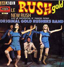 """ORIGINAL GOLD RUSHERS BAND-RUSH GOLD + NEW RUSH SINGLE 7"""" VINYL 1969 SPAIN"""