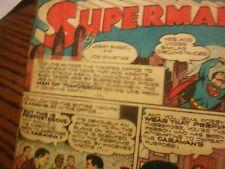 1943 Superman newspaper comics