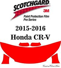3M Scotchgard Paint Protection Film Pro Series Clear Fits 2015 2016 Honda CR-V