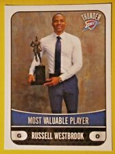 RUSSELL WESTBROOK #367 ( MVP ) PANINI  NBA 17/18   EUROPEAN EDITION STICKER