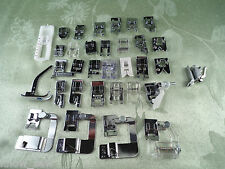 Quality 32 Plus Presser-Foot Set for HIGH SHANK Kenmore Necchi Janome Brother