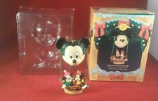 """Disney's Mickey & Minnie Mouse """"Christmas Is In The Air"""" Enesco Holiday Ornament"""