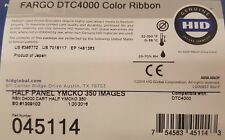 45114 - Fargo YMCKO Half Panel 350 Print Colour Ribbon - Suit DTC4250e/DTC4000