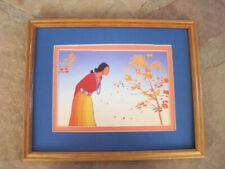 Navajo matted framed ESPERAUZA R C Gorman