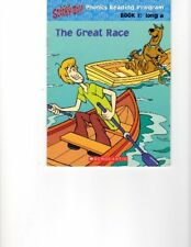The Great Race - Scooby-Doo Phonics Reading Program - Book 1: Long A (Scooby-Do