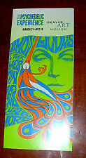 2009 FILLMORE POSTERS BROCHURE -  DENVER ART MUSEUM EXHIBIT - BONNIE MacLEAN