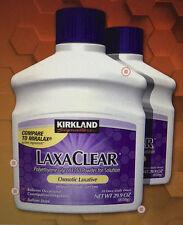 Miralax (Generic)Kirkland LaxaClear Polyethylene Glycol 2 Pack 100 doses 59.8ozs
