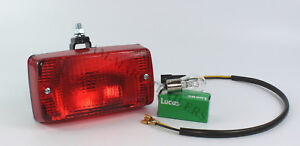 Red Rear Tail Stop Fog Light Lamp 12/24V Truck Bus Car Trailer Chassis Lorry Van
