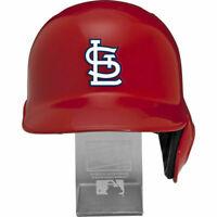 St. Louis Cardinals MLB Full Size Cool Flo Batting Helmet Free Display Stand