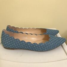 NIB Women's Size 8.5 M Crown And Ivy Shoes Flats Chambray